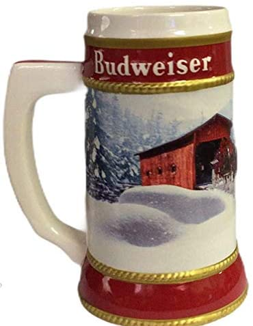 2019 Budweiser Holiday Stein - 40th Anniversary Edition