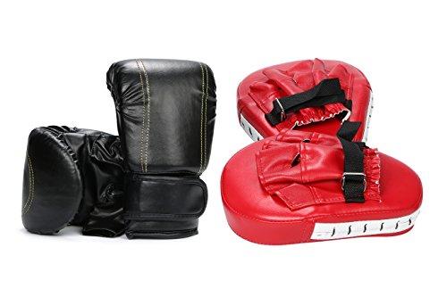 【ケーセブン】☆Kseven☆ ボクシング グローブ ミット セット キックボクシング ダイエット トレーニング フィットネス エクササイズ ボクササイズ ジム 用品 保護