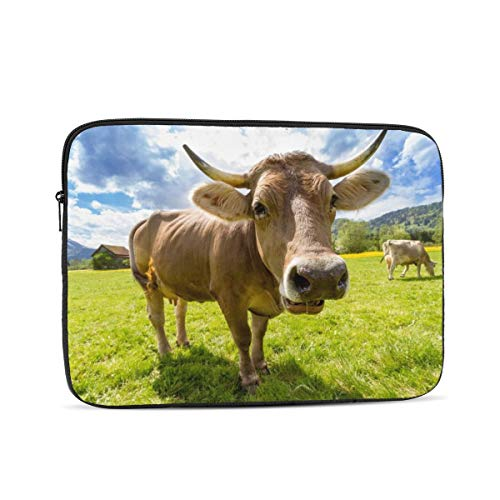 10'' 12'' 13'' 15'' 17 Inch Laptop Sleeve Cows Laptop Case Waterproof Notebook Computer Tablet Carrying Bag Cover