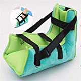 Plantar Fasciitis Night Splints,Ankle Foot Orthosis Support Orthopedic Sleeping Immobilizer Stretch Boot - Green(Single)