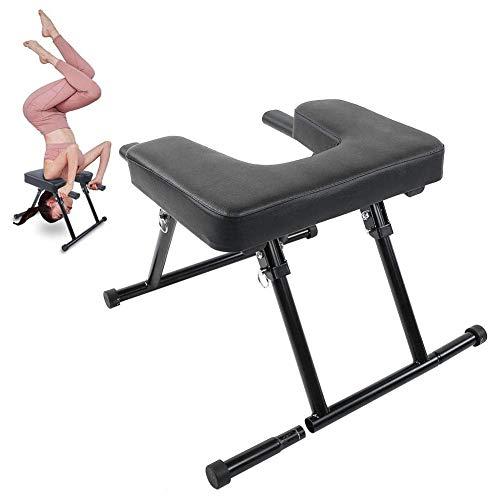 AFF Headstand Bench-Yoga Inversion Chair Headstand Stool-Ideal para Entrenamiento, Ejercicio físico y Alivio del estrés en el Gimnasio y Culturismo