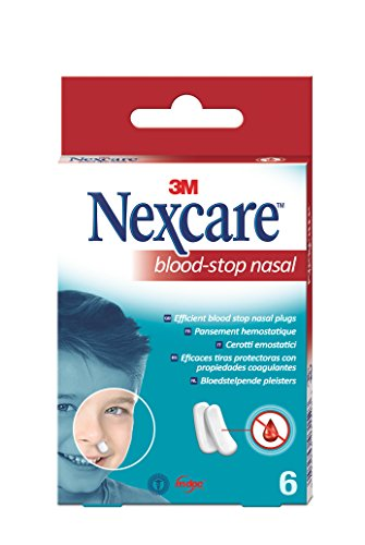 Nexcare N1700NP Blood Stop Nasenstöpsel, 6 Stück