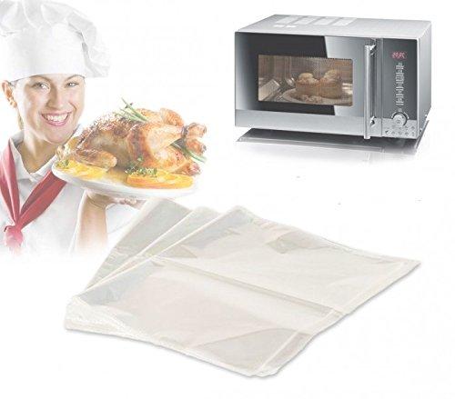 Set van 3 kookzakken 35 x 43 cm - optimaal voor een gezonde voeding