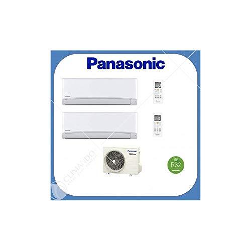 Panasonic Climatizzatore DUAL SPLIT 9 9 15.000 BTU CU2TZ41 2/TZ25TKE R32