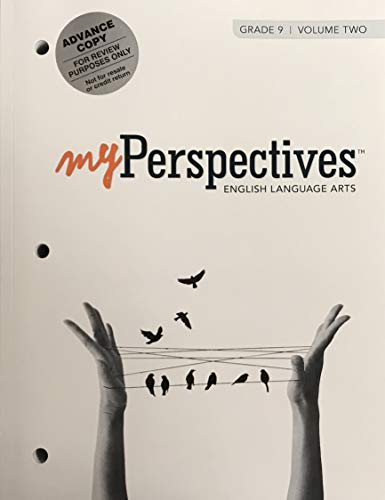 Download Myperspectives English Language Arts 2017 Student Edition Grade 09 Volume 2 0133338770