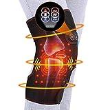DOACT Rodillera Almohadilla Calentamiento Masaje de de Rodilla Compresión de Calor para Alivio del Dolor y Artritis en las Articulaciones Recuperación Rehabilitación Aliviar El Dolor Muscular