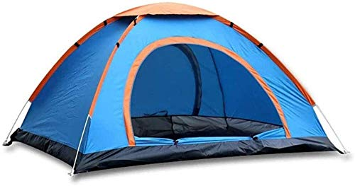 Plztou Tent for Camping Pop Up Beach Tent, Portable 2-4 Person Quick Opening Automatic Tent Folding Throwing Pop Up Outdoor Tent Anti- Camping Hiking Tent