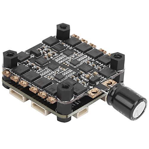 Qqmora Alimentation par Batterie Contrôleur de vol ESC sans balais Facile à Utiliser pour Drone de Course FPV avec Une compatibilité élevée