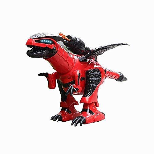ADLIN Control remoto juguete dinosaurio, dinosaurio niños eléctrico RC de juguete juguetes...
