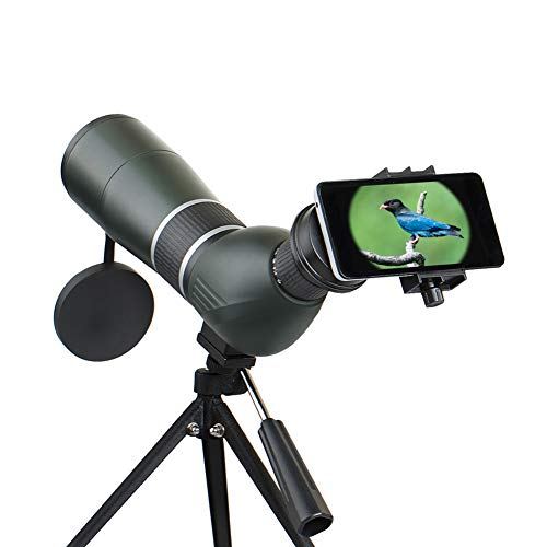 Review PBQWER Monocular Telescope, High Power HD Monocular for Bird Watching Adults with BAK4 Prism ...