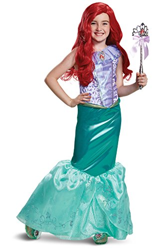 Disney Princess Ariel Little Mermaid Deluxe Girls' Costume