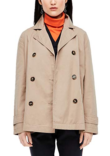 s.Oliver RED Label Damen Jacke im Trench-Style Sand 38
