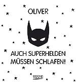 Namenskalender Oliver: Ideales Geschenk mit 12 trendigen Typo-Art-Sprüche mit immerwährendem Kalendarium. Wand-Aufstell-Postkarten-Kalender in einem.