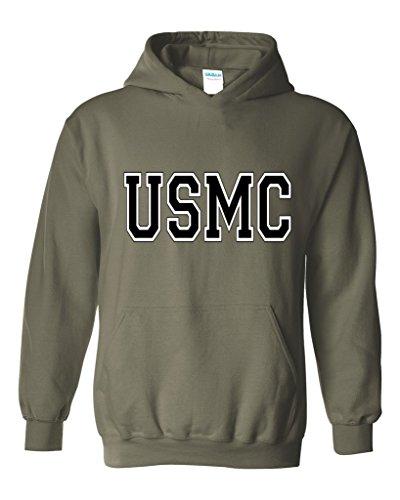 ACACIA Sudadera con Capucha Unisex USMC Athletic Marines