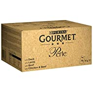 Purina Gourmet Perle Pouches Meat Selection In Gravy Mixed Mega Pack Wet Cat Food 96 x 85g