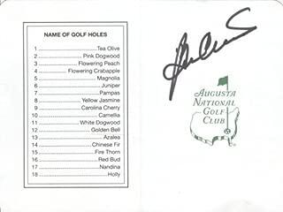 Ben Crenshaw Autographed Masters Augusta National Golf Club Scorecard - 1984, 1995 Champion