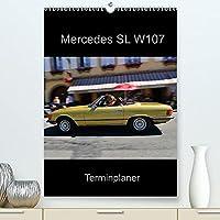 Mercedes SL W107 - Terminplaner (Premium, hochwertiger DIN A2 Wandkalender 2022, Kunstdruck in Hochglanz): Ausfahrten, Treffen . . . keine Termine mehr verpassen (Planer, 14 Seiten )
