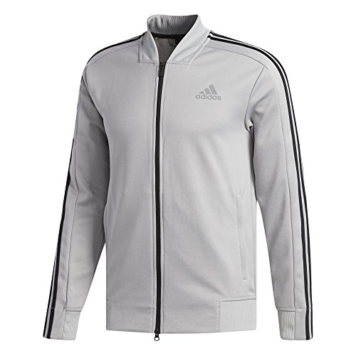 adidas Men's Athletics Sport Id Bomber Jacket Gray