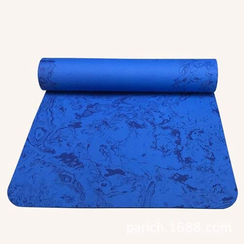 EVEYYGD 176cm  61cm  6mm TPE-Schaum-Yoga-Matten-feuchtigkeitsBestendiges Schlafen weiche Bequeme Matten-übungs-Schaum-Eignungs-Bodybuilding-Yoga-Auflage
