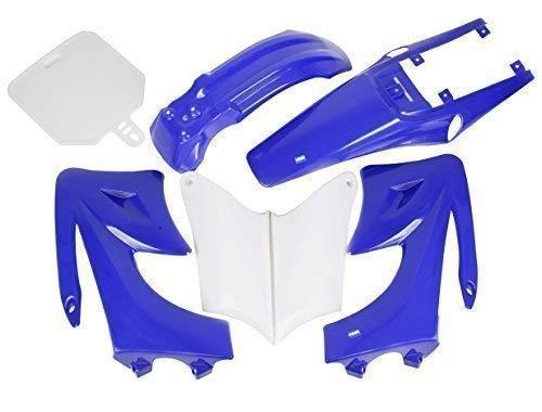 Hmparts Carénage Kit Dirt Pit Bike 125 -150 Ccm Type 2 Bleu