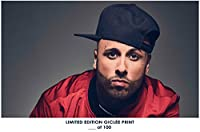 RareポスターThick Nicky Jam Limited 2018再印刷Giclee # ' d / 10012x 18