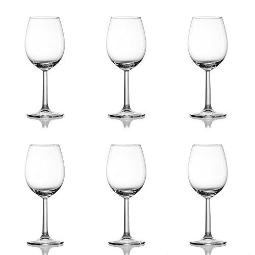 Ritzenhoff & Breker 4All Weißwein-Set, 6-tlg.,Transparent, Glas, 320ml