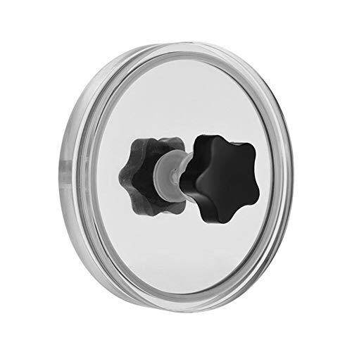 Label Saver Cleaner Player Zubehör Tuch und wasserdichte Handtasche Acryl Clip Reinigungsschutz LP Vinyl Schallplatten Portable Album Professional (schwarz)