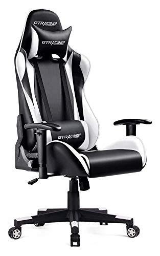 GTRACING Gaming Chair Racing Office Computer Ergonomic (Orange)