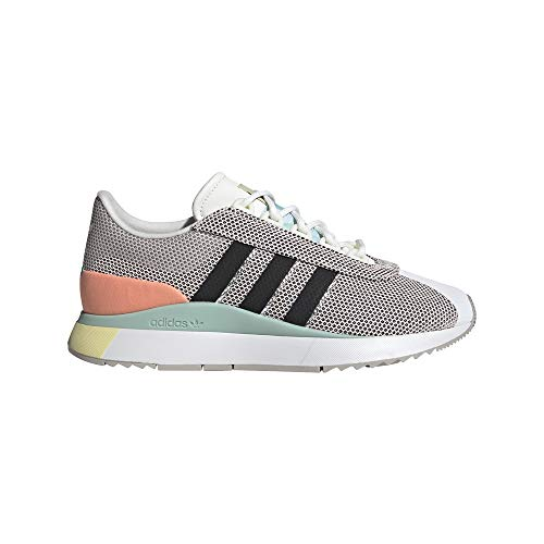 Adidas SL Andridge W, Sneaker Mujer, Cloud White/Black/Chalk Coral, 40 EU