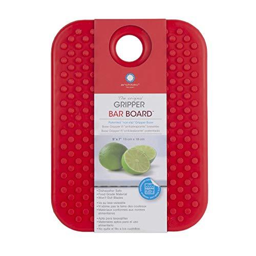 Architec GBBRR7 Original Non-Slip Gripper Cutting Board, 5' x 7', Red