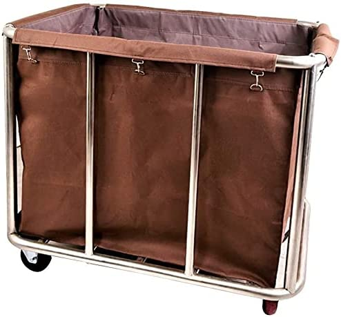 Laundry Ranking TOP19 Over item handling Basket Trolley Commercial Hea with Wheels Hamper