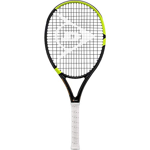 Dunlop Sports TR NT R7.0 HL Raqueta de Tenis, Unisex Adulto, Negro/Amarillo, 3