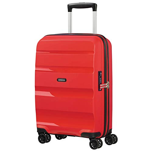 American Tourister Bon Air DLX Maleta con 4 Ruedas Rojo 55 cm