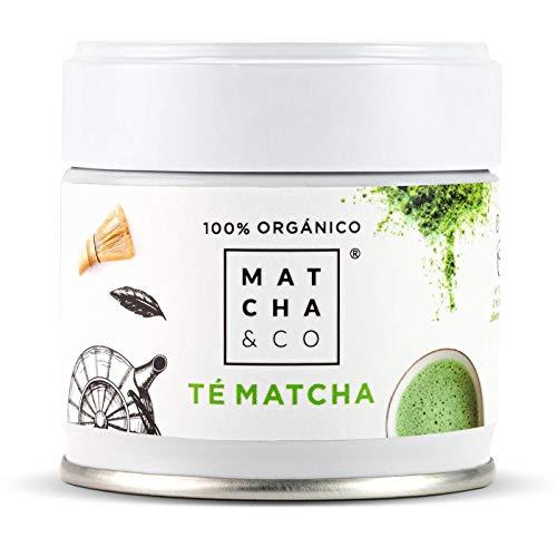 Matcha 100% Ecológico (30 g)   Té verde en polvo Orgánico de Japón   Té Matcha de grado ceremonial BIO   Matcha & CO (30 g)