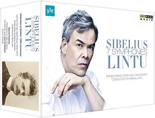 Sibelius: 7 Sinfonien [Hannu Lintu] [5 DVDs]