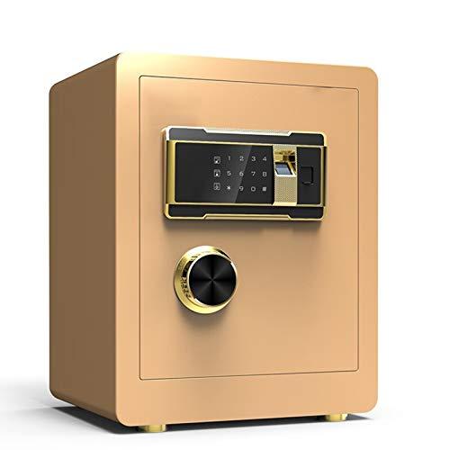 ZLSANVD Inicio Caja Seguridad de la Huella Seguro con Plataforma de Acero Ocultos de construcción con el Bloqueo de Cajas Fuertes for la Seguridad del Hotel Visita del Arma Cash Passport