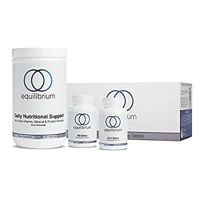 Equilibrium Nutrition 7 Day Detox & Diet Plan by Dr. Cabral |Cleanse for Weight Loss | WholeBody Detox |Organic, Vegan,Natural Weight Loss | Boost Energy