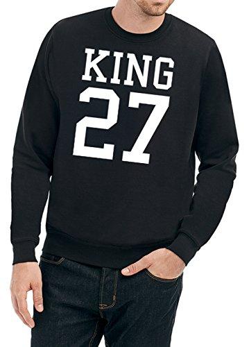 King 27 Sweater Black-XXL