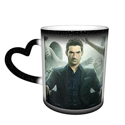 Lucifer Morningstar Kaffeetasse aus Keramik mit Farbwechsel, für Familie, Liebhaber, Freunde, Büro, Geburtstagsgeschenk