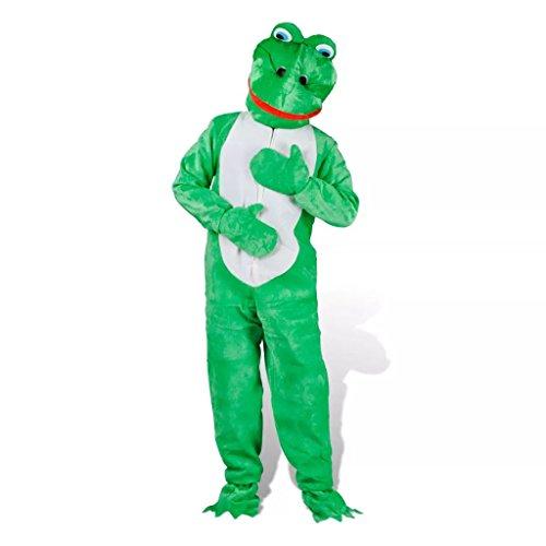 vidaXL Kostüm Frosch Froschkostüm Faschingkostüm Karneval Verkleidung XL-XXL