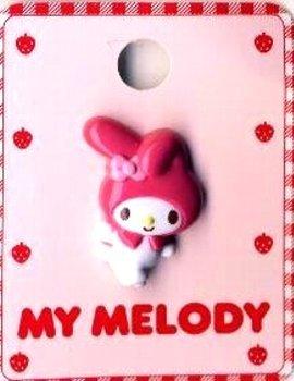 キャラクター ボタン マイ メロディ (型抜き)