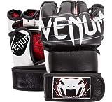 VENUM MMA Elite Undisputed Grappling - Guantes de Lucha (120 g), Color Negro, Medium, Negro