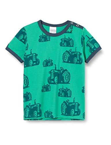 Fred'S World By Green Cotton Farming S/s T T-Shirt, Vert (Green 018602201), 92 Bébé garçon