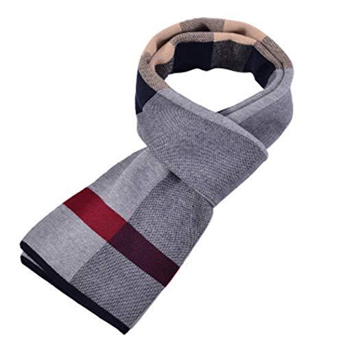 YONGYONG-scarf Winterschal-Herrenschell-Lätzchen Hat Den Warmen Klassischen Britischen Schottenkaro Mit Einer Länge Von 175 cm Verlängert (Color : Beige)