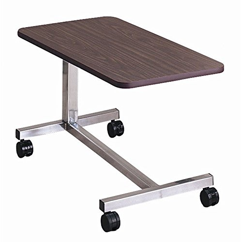 Overbed Non-Tilt Computer Hospital Bed Tray Bedside Tray Table:New by WW shop