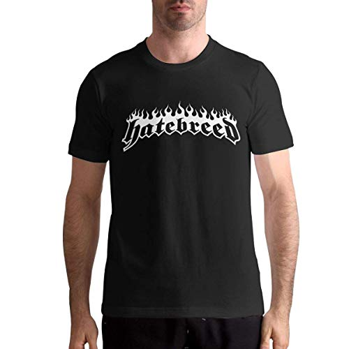 YYdg Die T-Shirts der Hatebreed-Männer Mann-T-Stücke Schwarzes