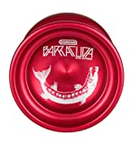 Duncan Toys Barracuda Yo-Yo, Unresponsive Pro Level Yo-Yo, Concave Bearing and Aluminum Body, Red
