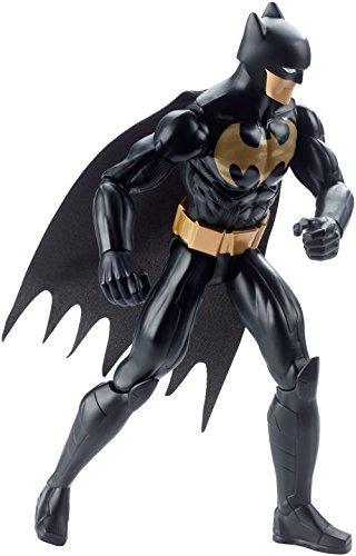 DC Justice League BATMAN Figura de acción Batman 30cm Traje negro (Mattel DWM50)