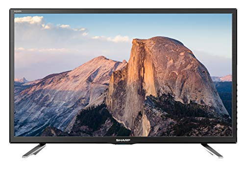 SHARP LC-24DHG6132E HD Ready Smart LED TV mit integriertem DVD-Player, 60 cm (24 Zoll), Triple Tuner [Energieklasse A]