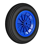 Forever Speed 3.50-8 Rueda maciza para carretilla de almacén profesional o doméstico (1 PCS)